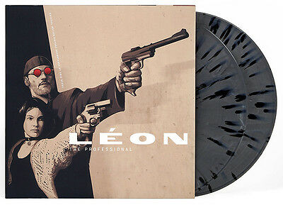 Eric Serra - Leon The Professional Soundtrack OST Vinyl LP Waxwork Splatter New