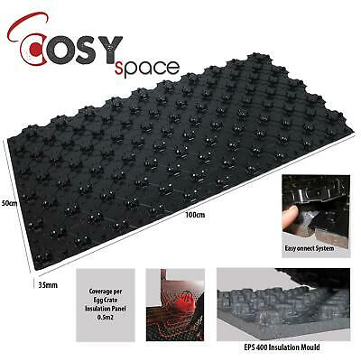Castellated Floor Panels Water Underfloor heating Board EPS Insulation Egg Tray