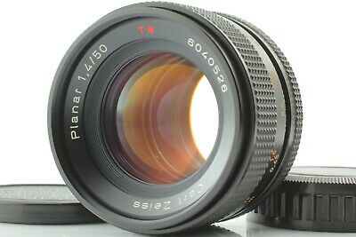 *Exc++++* Contax Carl Zeiss Planar T* 50mm f1.4 AEJ Lens From JAPAN #412