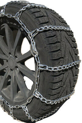 Snow Chains   35X12.5-18 Boron ALLOY STUDDED Cam Tire Chains Rubber Tensioners
