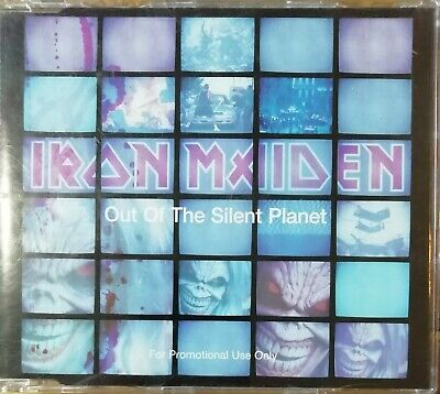 Iron Maiden Out Of The Silent Planet Promo CD Single