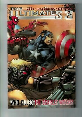 The Ultimates 3 - #1 | TPB | 1st Print Who Killed The Scarlet Witch Marvel 2009