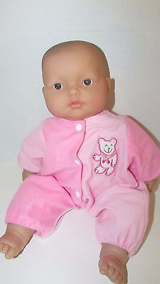 Berenguer babies Lots To Cuddle soft body vinyl head baby doll blue gray eye 15""