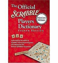 THE OFFICIAL SCRABBLE PLAYERS DICTIONARY a paperback book FREE USA SHIPPING