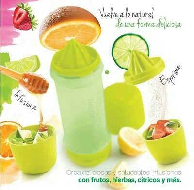 BOTELLA INFUSIONADORA TUPPERWARE Detox