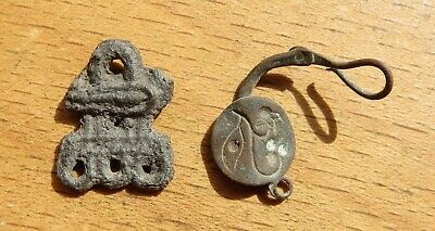 Scythian Bronze Old Earring & pendant 7-4th Century BC