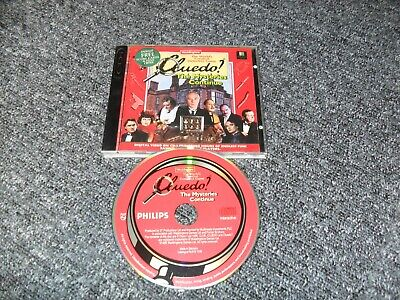 Genuine Philips Cdi Game - Cluedo The Mysteries Continue - Complete - Tested