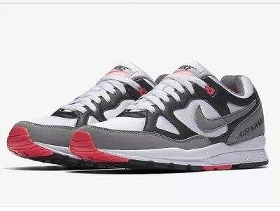 check out 334a0 bfd63 Nike AIR SPAN II Running Shoes Men s AH8047-005 UK 9.5 EU 44.5 Hot Coral