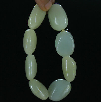 China AAA hetian white Jade Bangle handcarved Cobblestone Bracelet Bangle nouu