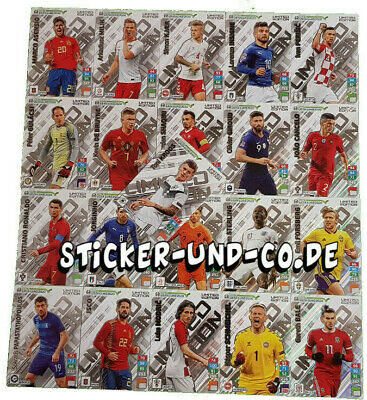Panini Road to Euro 2020 Adrenalyn XL Limited Edition Cards zum  aussuchen