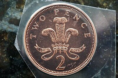 2005 Brilliant Uncirculated - Definitive - Two Pence 2p Coin - Royal Mint