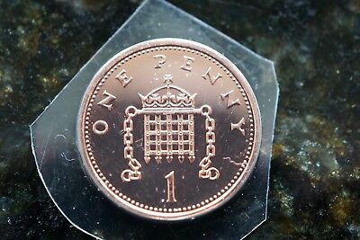2003 Brilliant Uncirculated - Definitive - One Pence Penny 1p Coin - Royal Mint