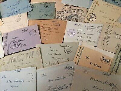 1 Feldpost Cover WW2 Germany Letter - All Come With Original Letters Inside!!