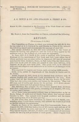 House of Representatives: J. C. Irwin & Co and Charles A. Perry & Co