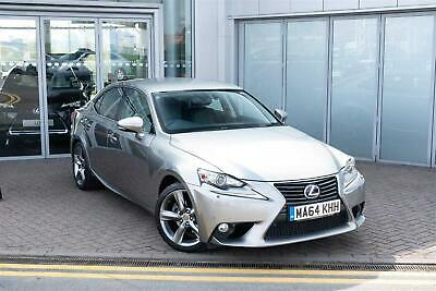 2014 Lexus IS 2.5 Premier PETROL/ELECTRIC silver CVT