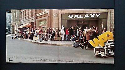 "War  ""Galaxy""  1977 Very Controversial Large Rare Original Print Promo Poster Ad"