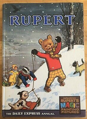 RUPERT ANNUAL 1967  NOT Inscribed NOT Price clipped PAINTINGS Untouched V FINE