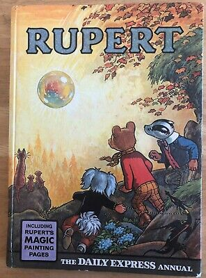 RUPERT ANNUAL 1968 NOT Inscribed Price clipped PAINTINGS Untouched VG/FINE