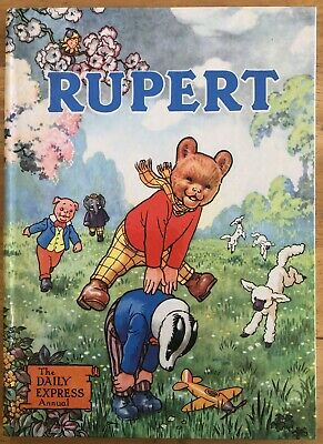 RUPERT ANNUAL 1958 NOT Inscribed NOT Price clipped PAINTING Untouched VERY FINE