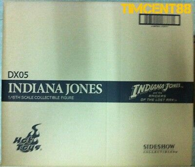 Ready! Hot Toys DX05 Raiders of the Lost Ark Indiana Jones 1/6 Figure Sealed