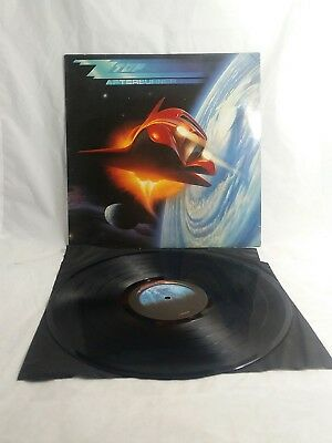 AFTERBURNER ZZ TOP 1985 Album VTG Vinyl WARNER 25342-1E LP