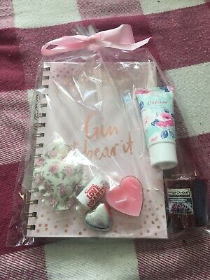 Gift Set, Gin & Bear It Notebook, Cath Kidston, Yankee Candle, New