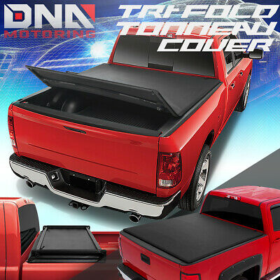 For 2015-2019 Ford F150 6.5' Adjustable Tri-Fold Soft Trunk Bed Tonneau Cover
