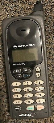 1bfb08afdbd9dd Motorola Profile 300 Cell Phone Alltel Good Used Fast Shipping Vintage  Collector