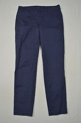 0740da93b OLD NAVY PIXIE Pants Sz 6 Petite Mid Rise Skinny Ankle Length Blue ...