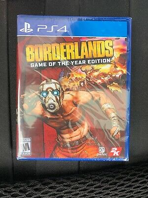 Borderlands: Game of the Year Edition (Sony PlayStation 4, 2019) PS4