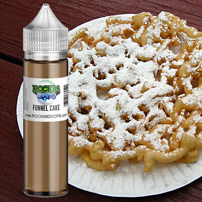 ROCKINDROPS Funnel Cake Food Flavor Flavoring Concentrate TFA 10ml 30ml 50ml