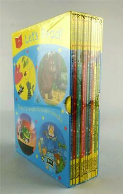 Let's Read 12 Original Picture Books Macmillan New and Sealed
