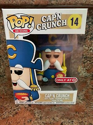 Funko Pop! Captain Crunch Cap'n Crunch #14 Ad Icons (Target Exclusive)