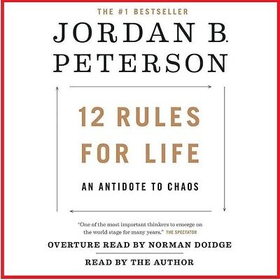12 Rules for Life : An Antidote to Chaos by Jordan Peterson 🎧 audiobook 🎧