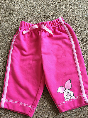 Girls Disney at George Pink Piglet Trousers Size 0-3 Months B14