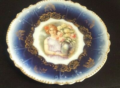 "Vintage Royal Bavarian P.M.CHINA 8.5"" Plate  Germany"