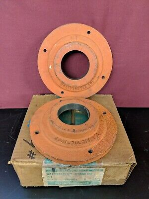 General Electric GE 36A167087AB 001 Bearing Cap for CD368AT DC Motor LOT OF 2