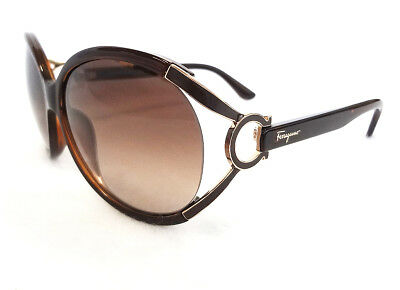 b3f3c4fdb3ad Salvatore Ferragamo Women's Sunglasses SF600S Brown 61-14-130 MADE IN ITALY  - Ne