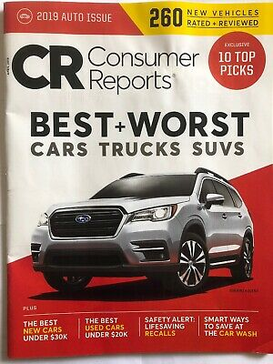 Consumer Reports Cars Suvs Trucks Best And Worst Auto Issue 10