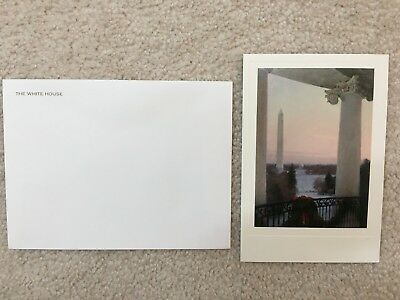 2008 Official White House Christmas Card - President George and Laura Bush