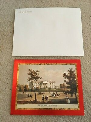 1973 Official White House Christmas Card - President Richard Nixon