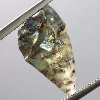 Natural sin Tratar Gemmy Sapphire Crystal-Mozambique 13.22ct Arriba