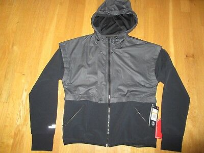 4c946f1d2990ea NWT Under Armour UA Unstoppable GORE WINDSTOPPER Hooded Jacket Gray S $119  SO