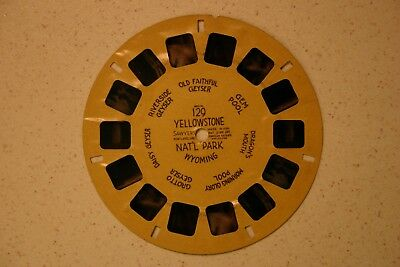 Yellowstone Nat/'l Park Deluxe 6 Reel Set Classic ViewMaster