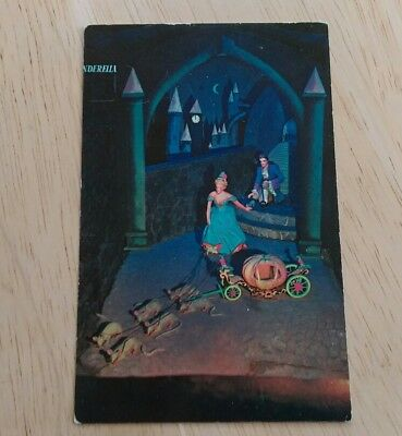 Cinderella Fairyland Caverns Rock City Gardens Lookout Mountain TN Rare postcard