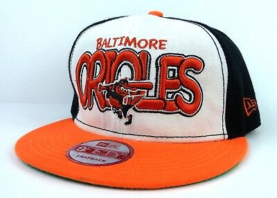 best sneakers 50205 64f6f Baltimore Orioles 9Fifty New Era Snapback Cap   Hat - All Embroidered
