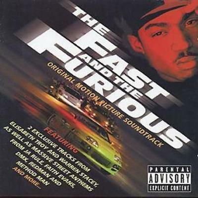 The Fast & The Furious Original Motion Picture Soundtrack CD Album New & Sealed