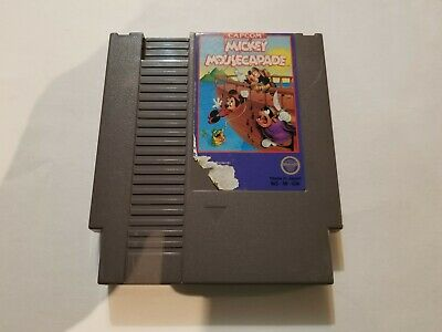 Mickey Mousecapade NES Game Cartridge (Nintendo Entertainment System, 1988)