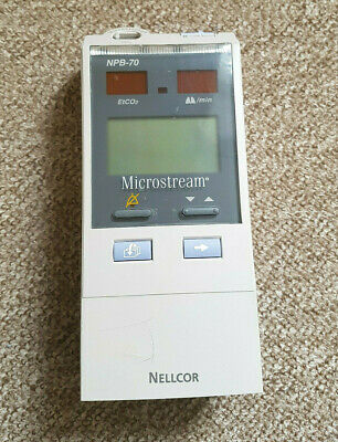 Nellcor NPB-70 Handheld Capnograph (Without battery or charger. Free Warranty)