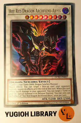 Yugioh - Hot Red Dragon Archfiend Abyss - DUPO-EN057 - Ultra Rare - 1st Ed Mint